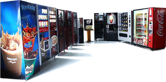 What We Offer Coffee Vending Machines
